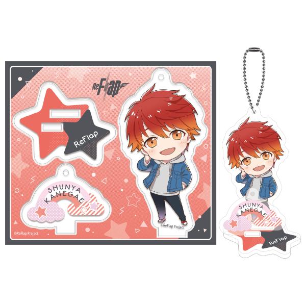 ReFlap Acrylic Stand Key Chain  KANEGAE  SYUNYA Ver