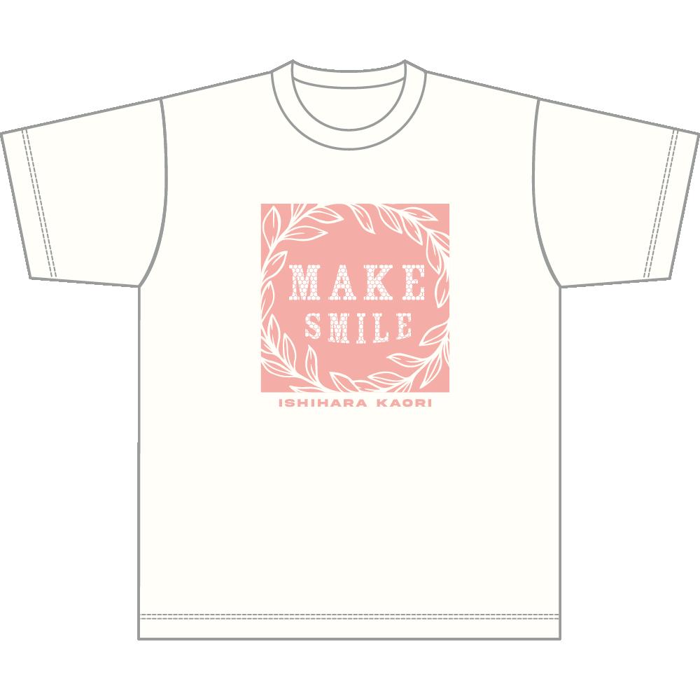 "Ishihara Kaori 2nd LIVE ""MAKE SMILE"" T-shirt A/size XL"