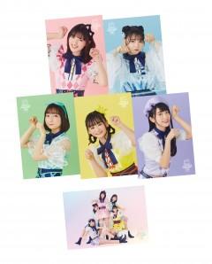 "【TOKYO MEW MEW NEW】""Smewthie"" Cast  Photo 6types set Release in April 30th 2021"