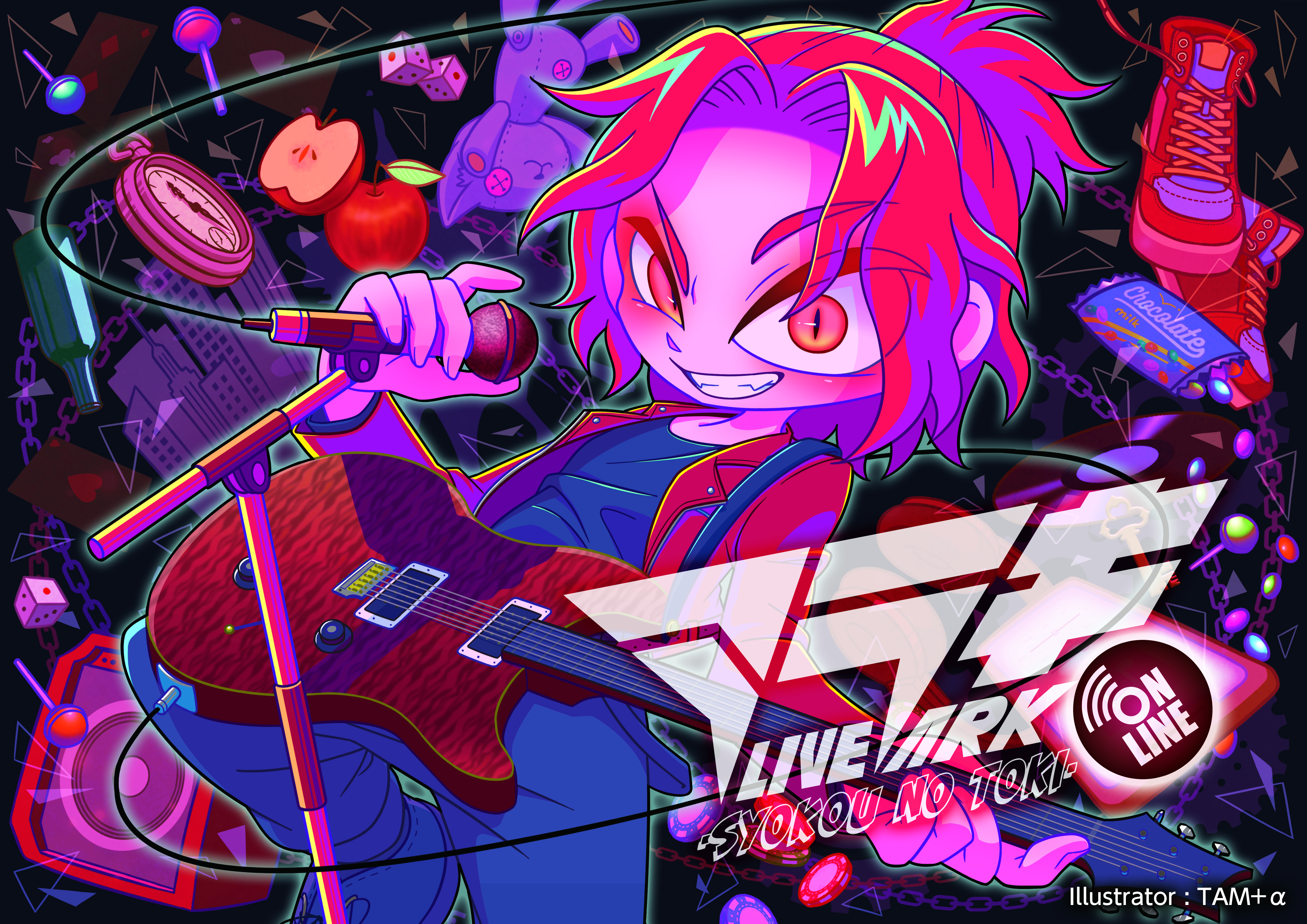 【ARAKI LIVE ARK -syokou no toki-】Clear multi-case No.2