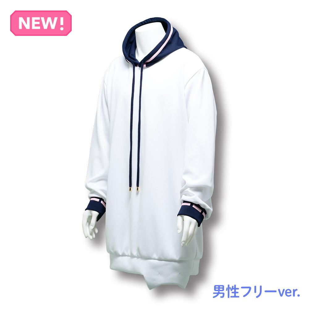 【HIKIKOMORI DEMO LIVE GA SHITAI! 2021】mafumafu's formal wear(Hooded Sweatshirt) Men's free size ver.