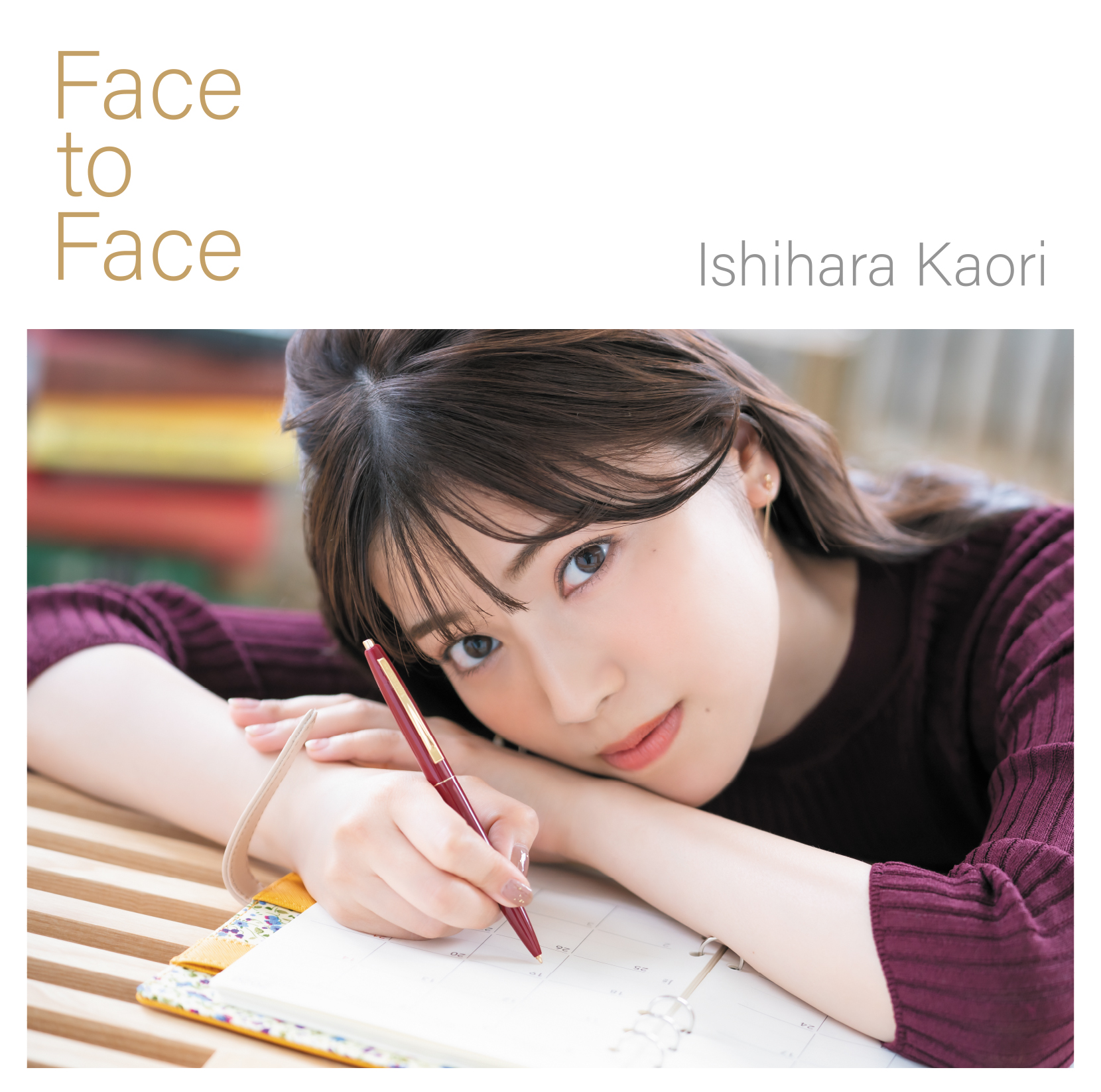 "Ishihara Kaori 4th Single CD ""Face to Face"" limited edition  (CD+DVD)"