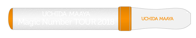 "UCHIDA MAAYA ""Magic Number"" TOUR 2018 Concert Penlight No.1"