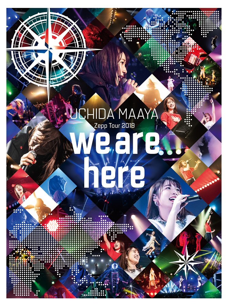 "UCHIDA MAAYA Zepp Tour 2019 ""we are here"" DVD"