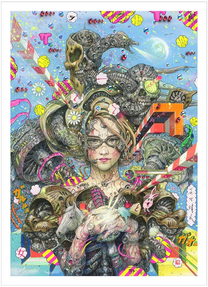NINJA GIRL Digital Print (YASUTO SASADA)