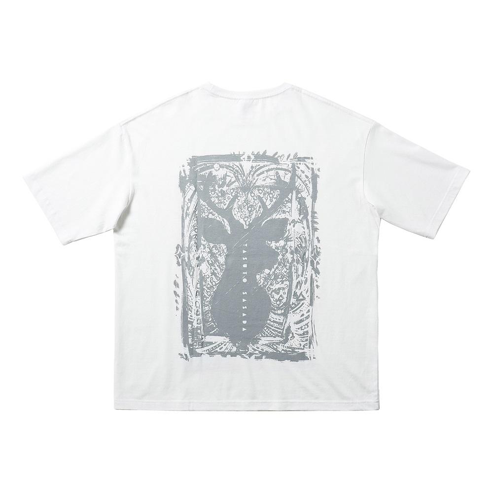 NARASHIKA Original T-shirt  L size (YASUTO SASADA) No.2
