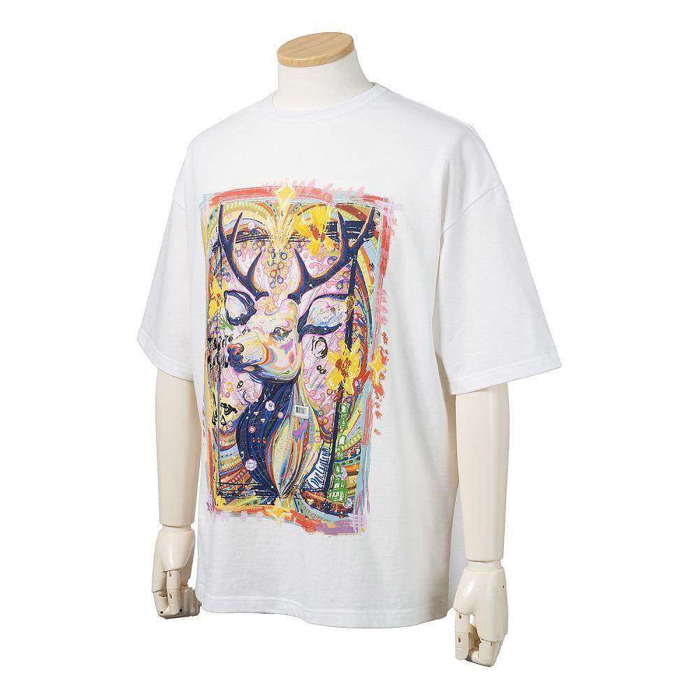 NARASHIKA Original T-shirt  L size (YASUTO SASADA) No.3