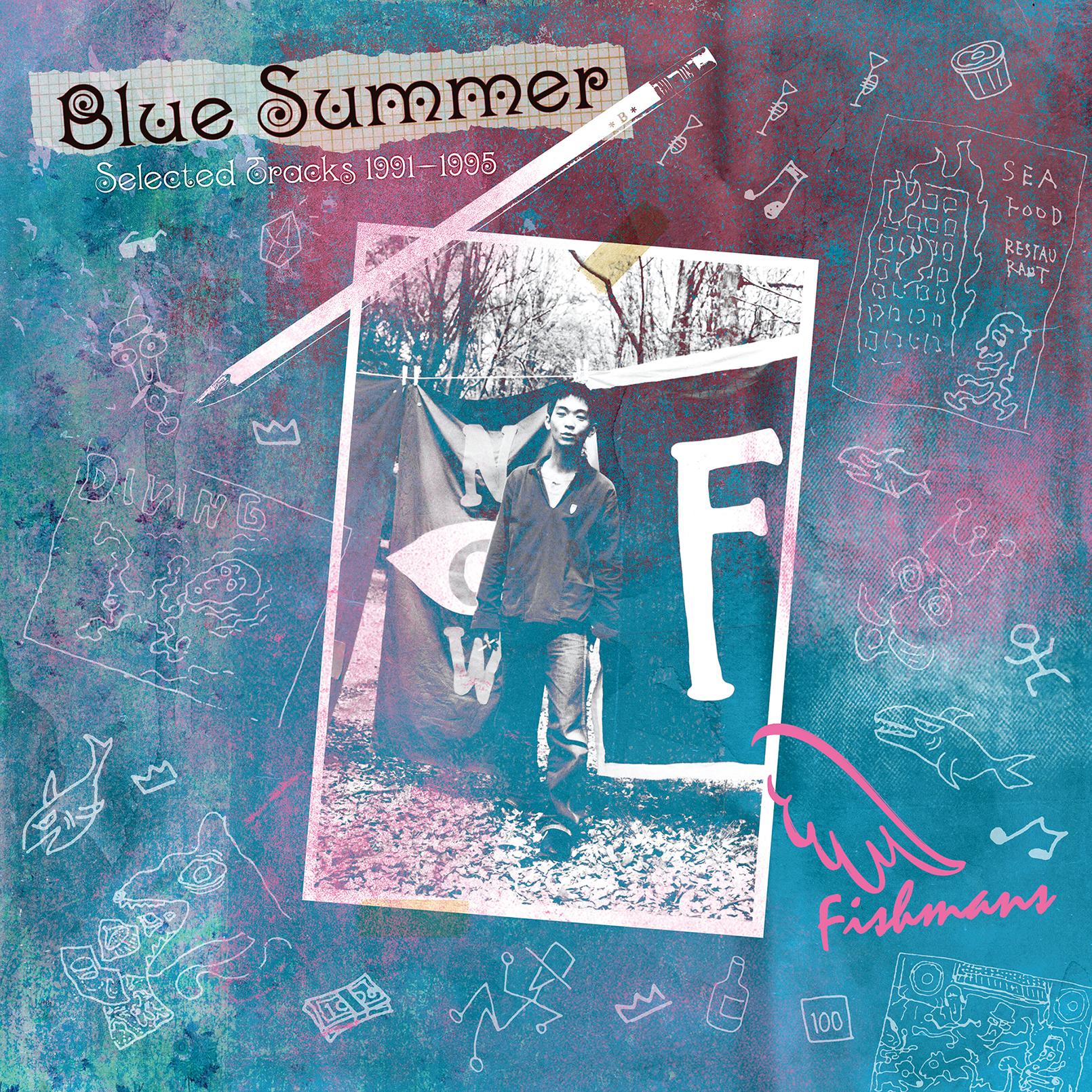 """Fishmans """"BLUE SUMMER"""" ~Selected Tracks 1991-1995~ (Vinyl) 2-disc set No.1"""
