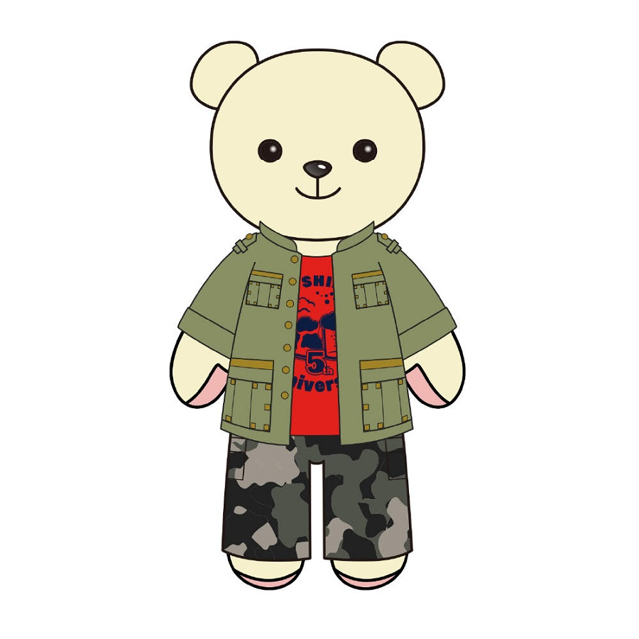 【canime limited version】Shimono Hiro×Kumamate Collaboration / Plush Mascot & Costume Set Release in early March 2022.