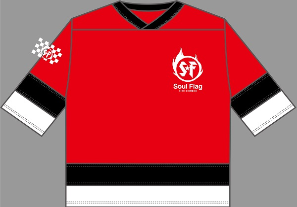 "Shimono Hiro ""Soul Flag"" Hockey Shirt size M"