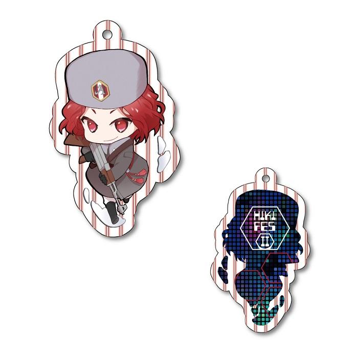 【HIKI FES 2021】Acrylic Key Chain ARAKI Battle Mode ver. No.2