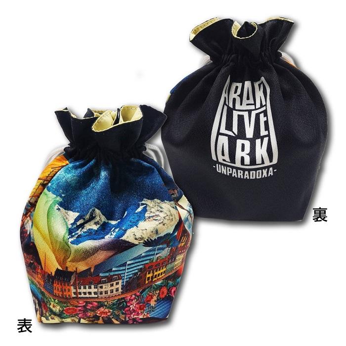 Very stylish drawstring bag (ARAKI LIVE ARK -UNPARADOXA-)