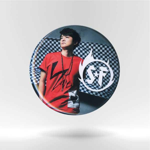 "Shimono Hiro ""Soul Flag"" File Folder & Badge set No.1"