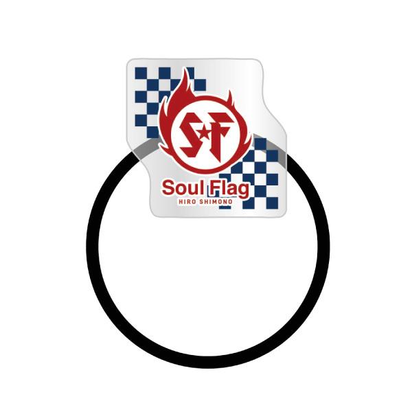 "Shimono Hiro ""Soul Flag"" Hair Rubber Band No.1"
