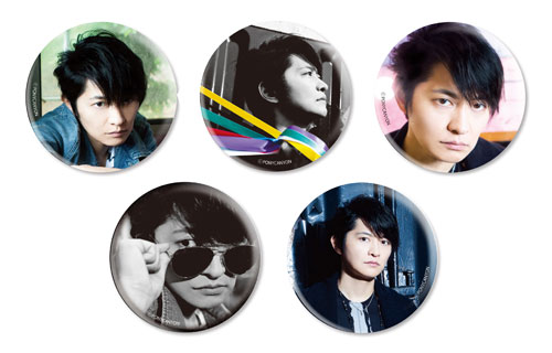 "Shimono Hiro Live House Tour 2018 ""Color of Life"" Badge (5 types random)"
