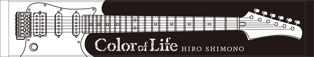"Shimono Hiro Live House Tour 2018 ""Color of Life"" Muffler Towel"
