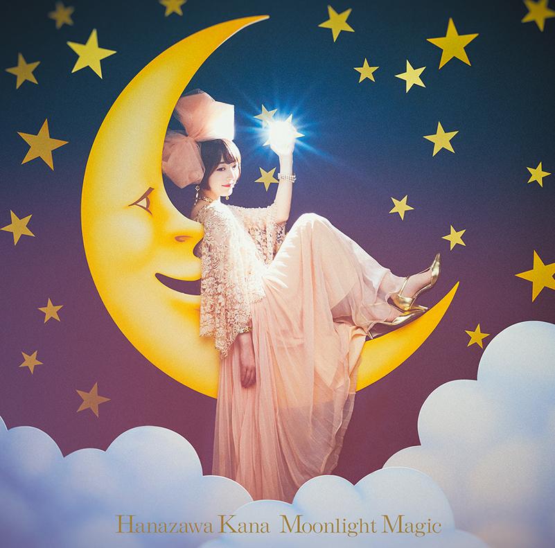 "【canime limited version】Hanazawa Kana 1st single ""Moonlight Magic"" canime limited version(CD+PHOTO+Blu-ray) Release in Sep 29th 2021"