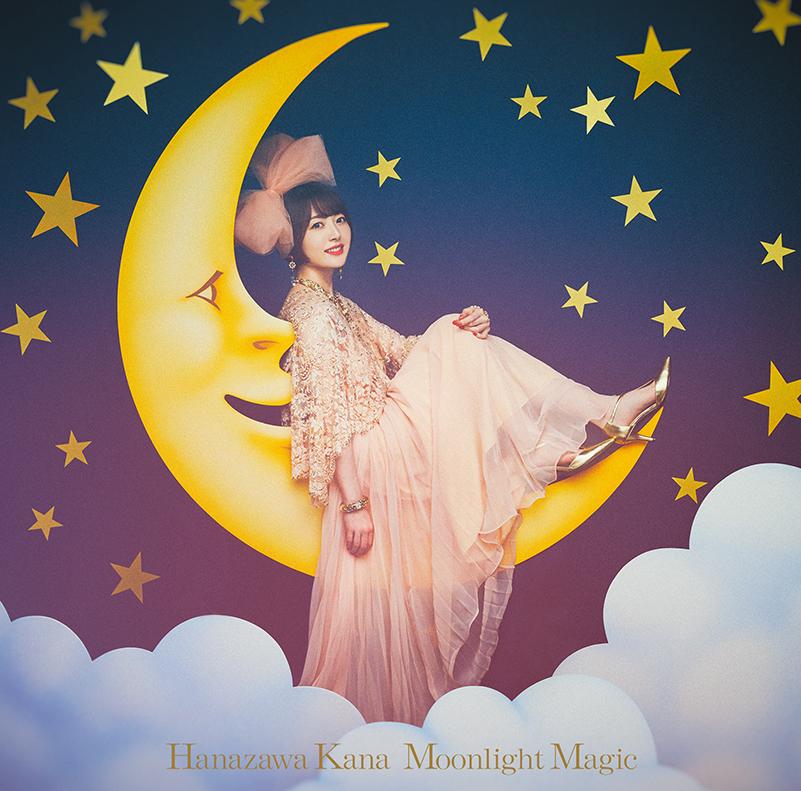 "Hanazawa Kana 1st single ""Moonlight Magic"" Limited Edition(CD+Blu-ray) Release in Sep 29th 2021"