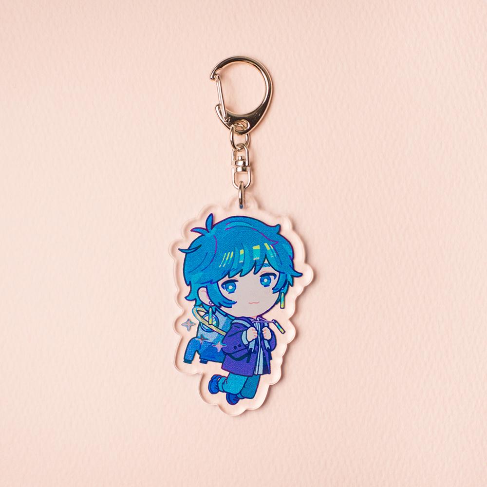 【soraru】Acrylic Key Chain (soraru and the rocket backpack)