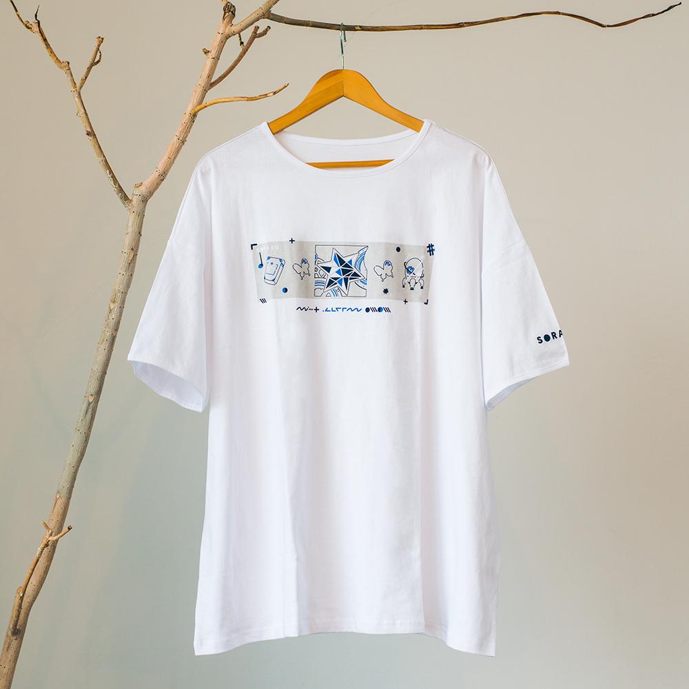 【soraru】BIG T-shirt (Books and Time Machines)