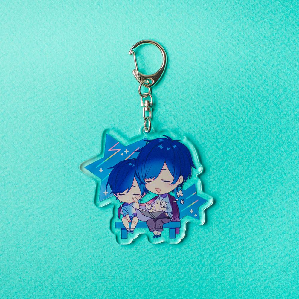【soraru】Acrylic Key Chain A (Kimi no yume wo kikasete)