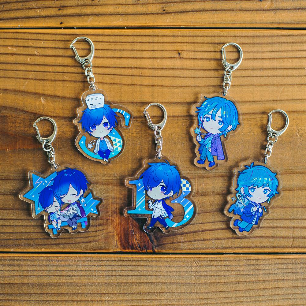 【soraru】Acrylic Key Chain B (hanpen and souraru) No.2