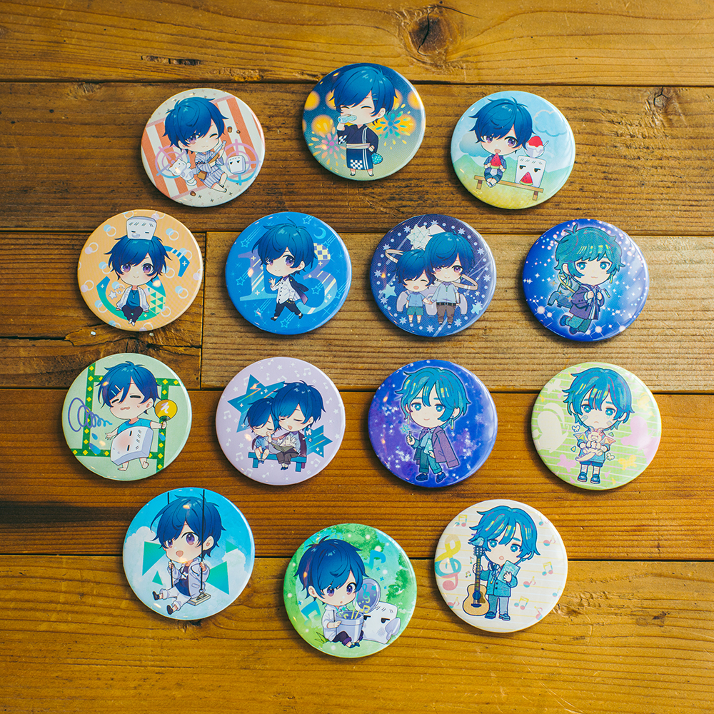 【soraru】Badge Lottery with a prize No.1
