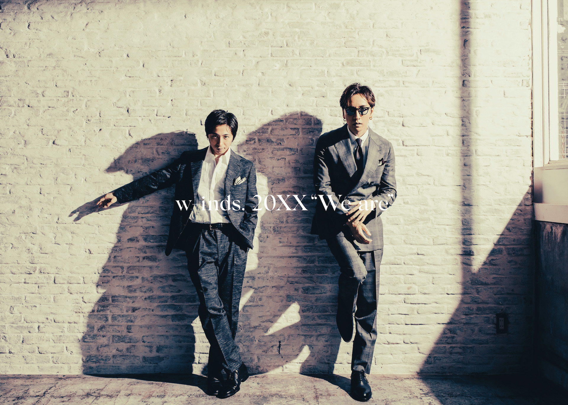 """【Ponycanyon Online Completely Limited Special Box Edition】w-inds. Album 20XX""""We are"""" (CD+DVD+PHOTOBOOK+20XX""""THE BEST""""INSTRUMENTAL CD)Release in November 24th 2021 No.1"""