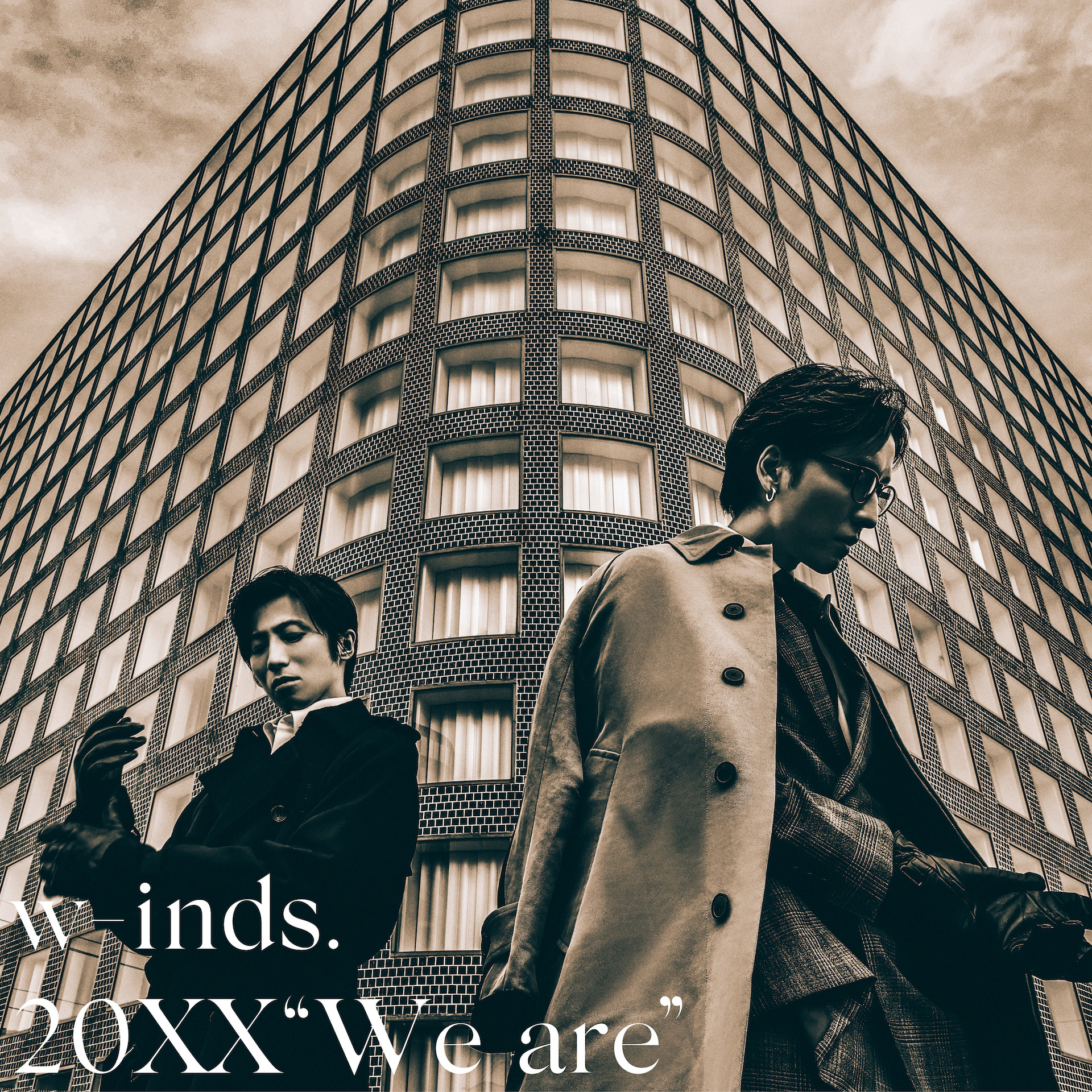"""w-inds. Album 20XX""""We are"""" Limited Edition(CD+Blu-ray)Release in November 24th 2021 No.1"""