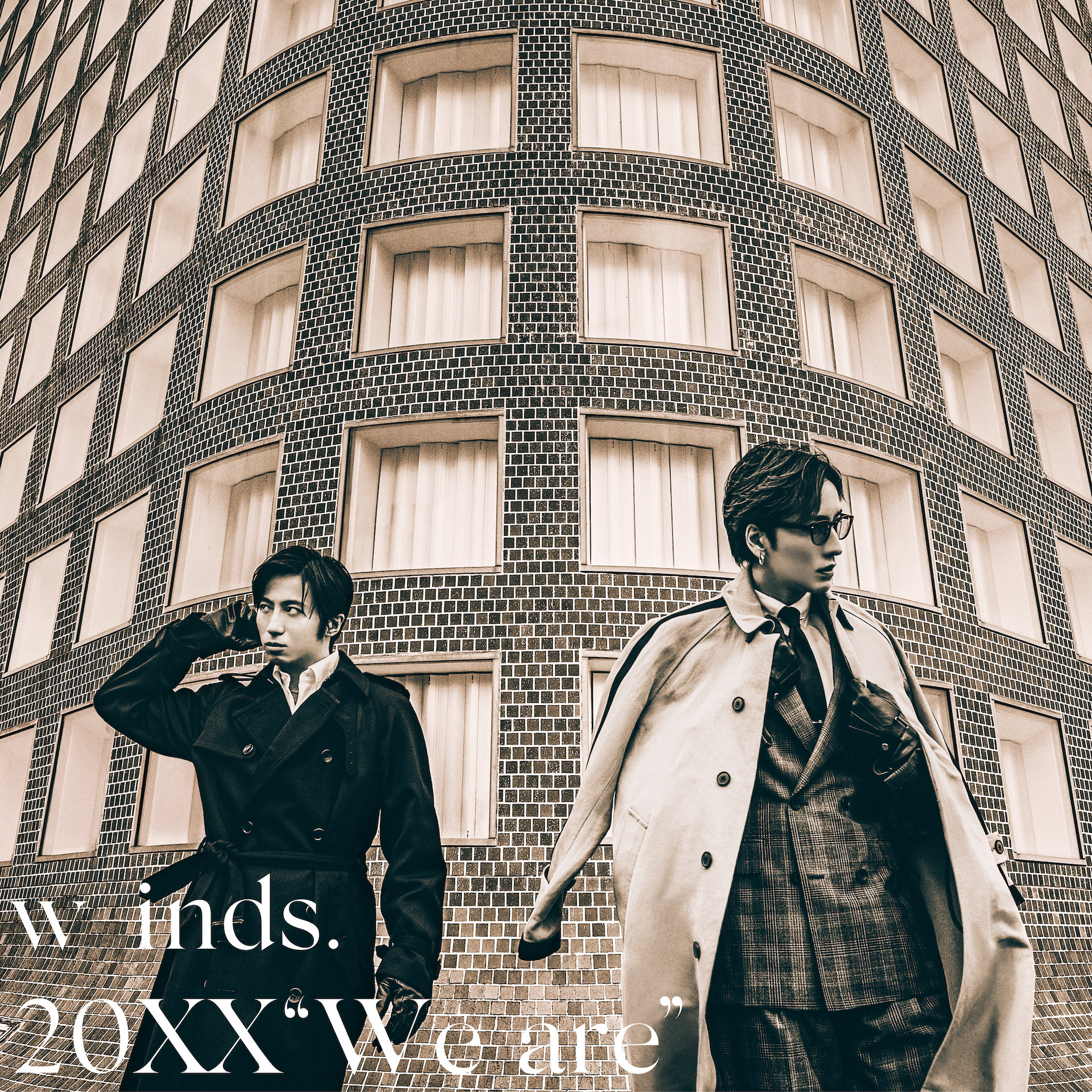 """w-inds. Album 20XX""""We are"""" Normal Edition(CD only)Release in November 24th 2021"""