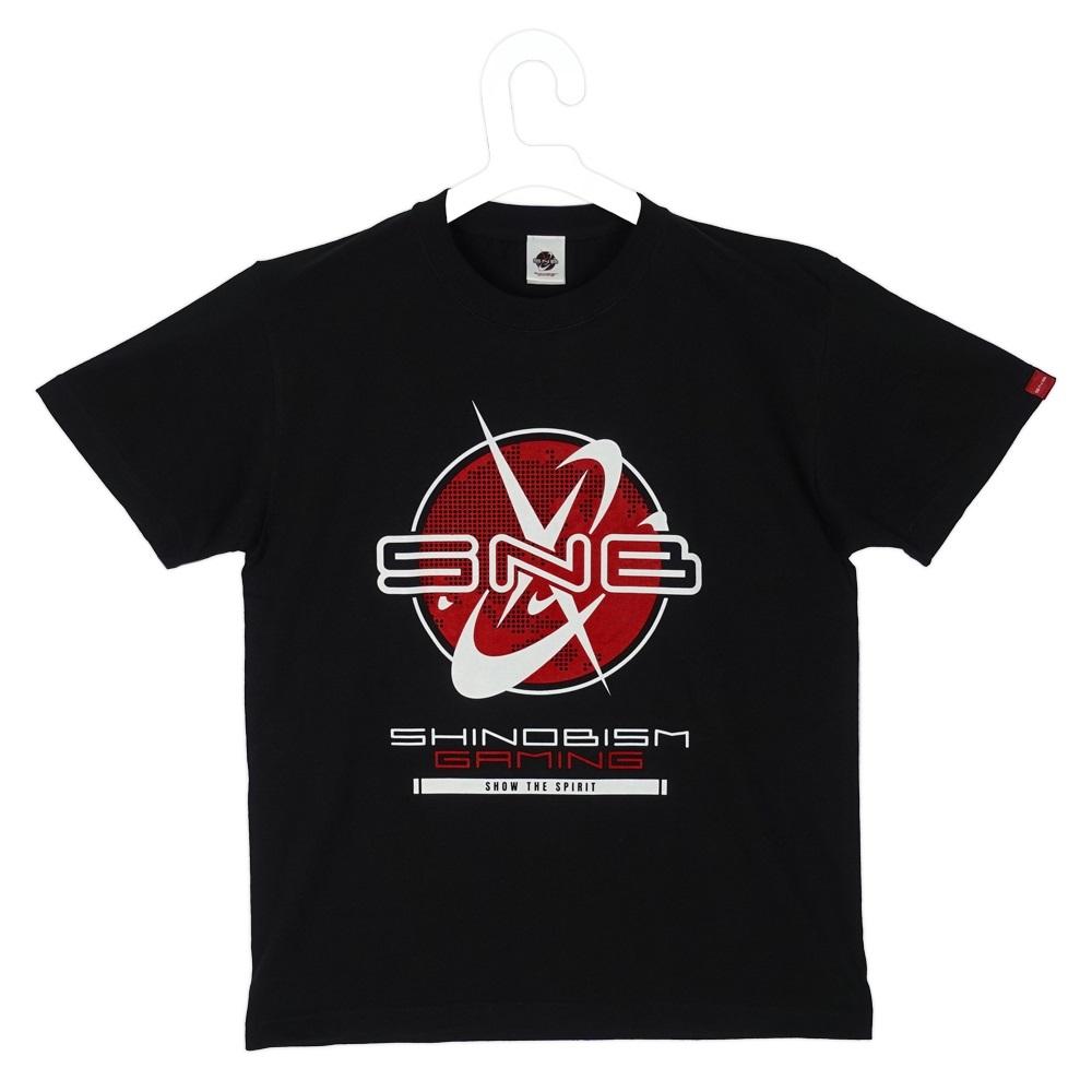 SNB2022 Logo T-shirt. Black size L