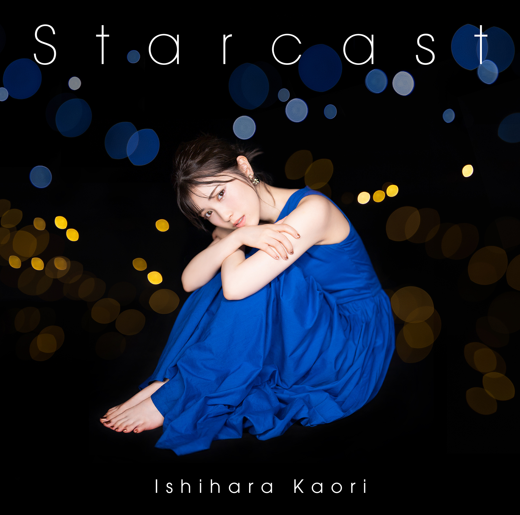 """Ishihara Kaori 7th Single """"Starcast"""" Normal Edition (CD only) Release in Nov 24th 2021 No.1"""