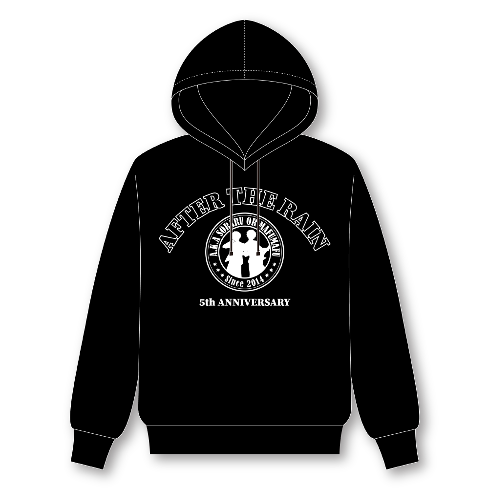 【After the Rain ONLINE LIVE 2021 -5th ANNIVERSARY-】 Hooded Sweatshirt