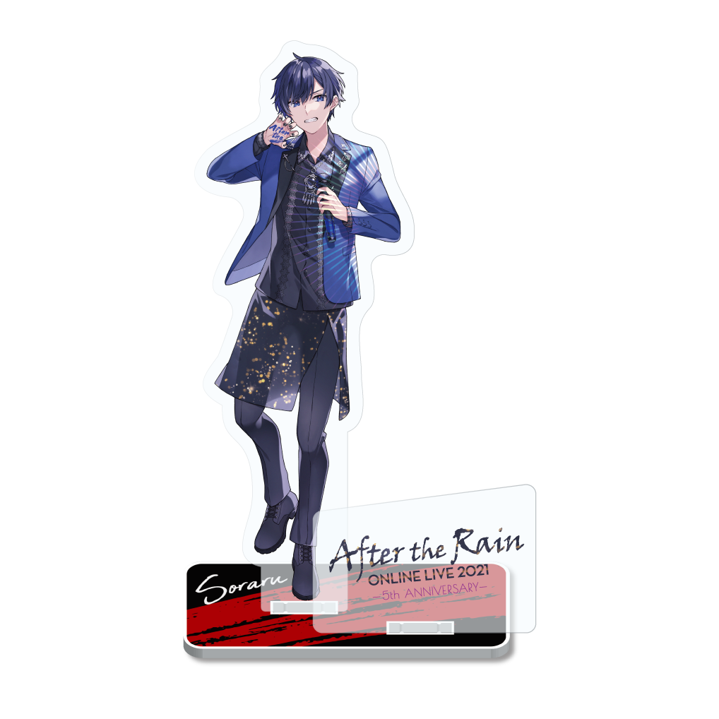【After the Rain ONLINE LIVE 2021 -5th ANNIVERSARY-】 soraru Acrylic Stand