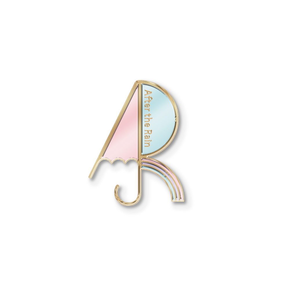 【After the Rain ONLINE LIVE 2021 -5th ANNIVERSARY-】 Pin Badge A