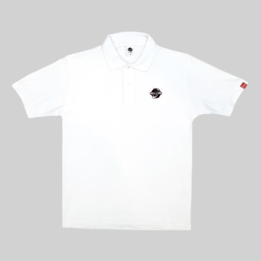SNB Logo Embroidered Polo shirt. White size M