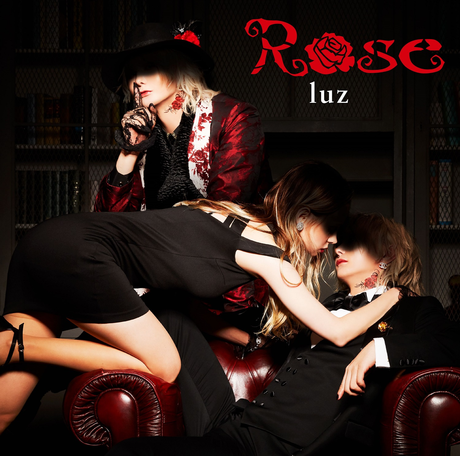 "luz 2nd single  ""Rose"" Limited Edition(CD+DVD)Release in January 27th 2021 No.1"