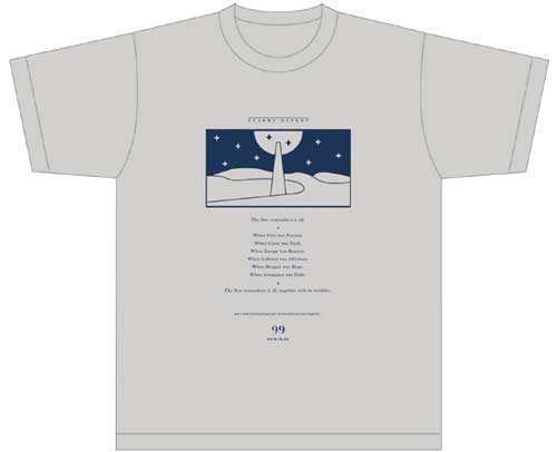 "Revue Starlight 2nd STARLIVE ""Starry Desert"" T-shirt (size XL)"