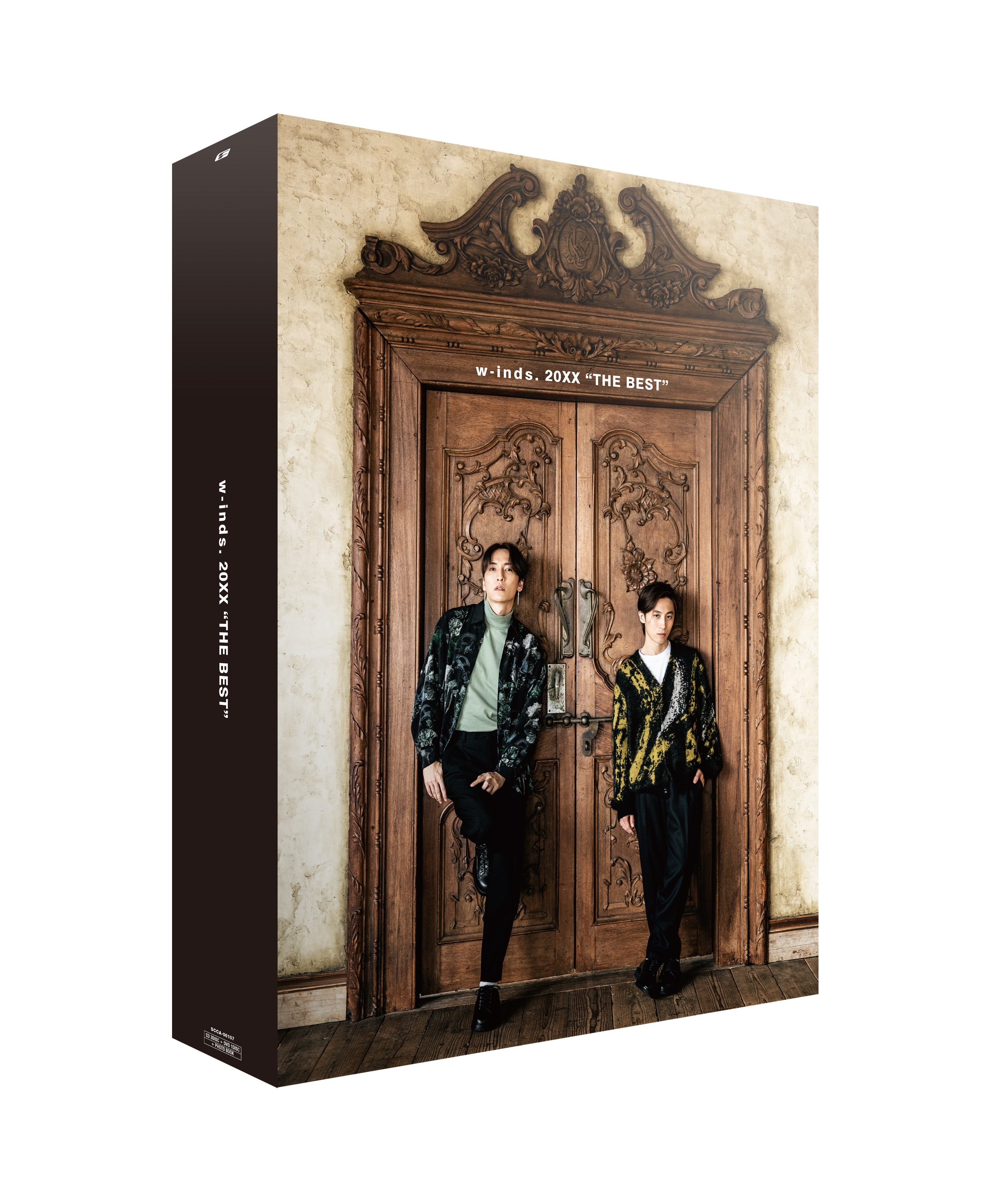 """【Ponycanyon Online Completely Limited Version】w-inds. Album 20XX""""THE BEST"""" (4CD+DVD+Photo Book)Release in March14th 2021 No.2"""