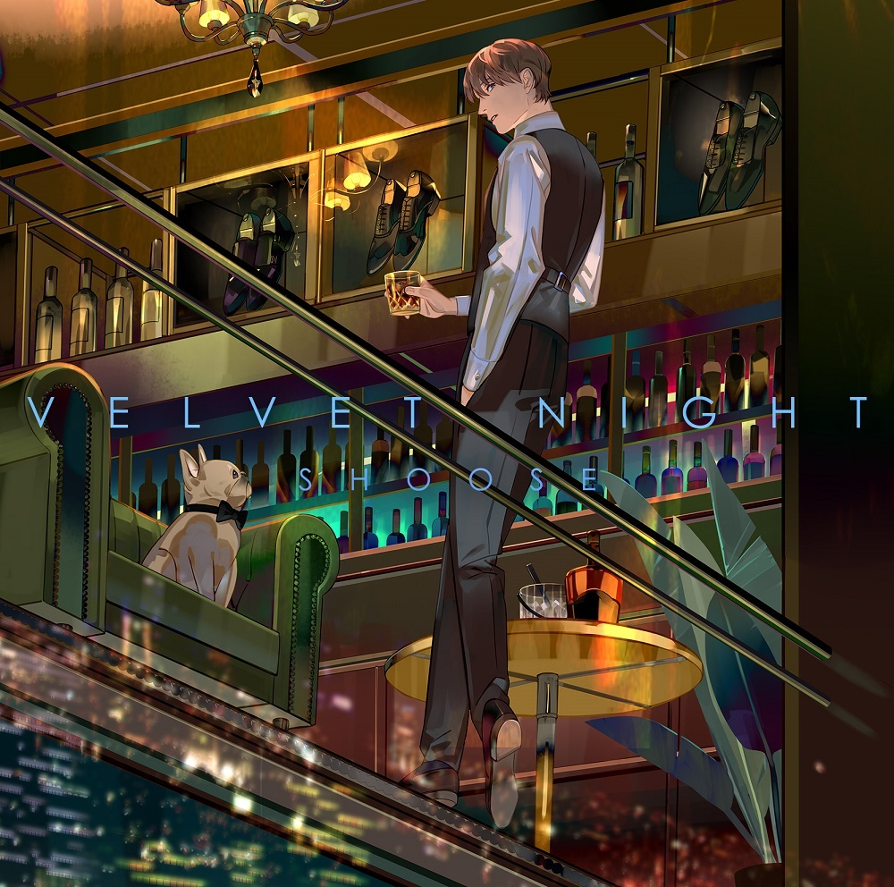 "Shoose 4th Album ""Velvet Night"" XYZP Limited Version(CD+DVD)Release in March 21st 2021"