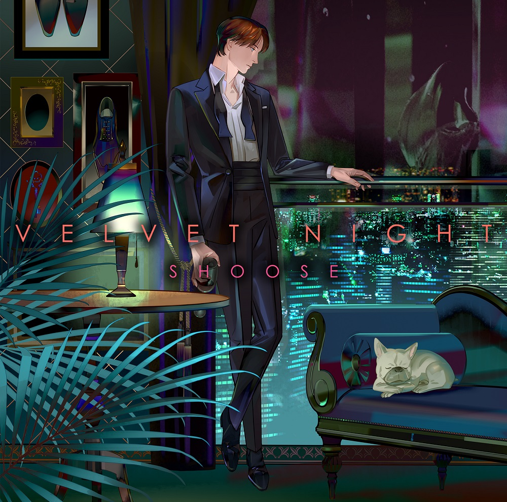 "Shoose 4th Album ""Velvet Night"" Normal Edition(CD only)Release in March 21st 2021"