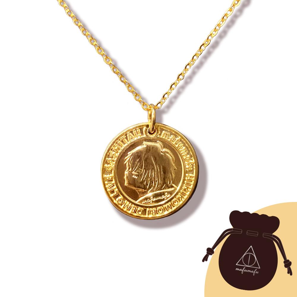 【HIKIKOMORI DEMO LIVE GA SHITAI! 2021】Coin Necklace/mafumafu