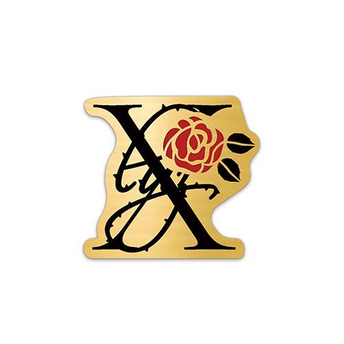 【5th TOUR -ELEVEN-】Badge (luz 10th Anniversary Goods -REVIVE-) No.1