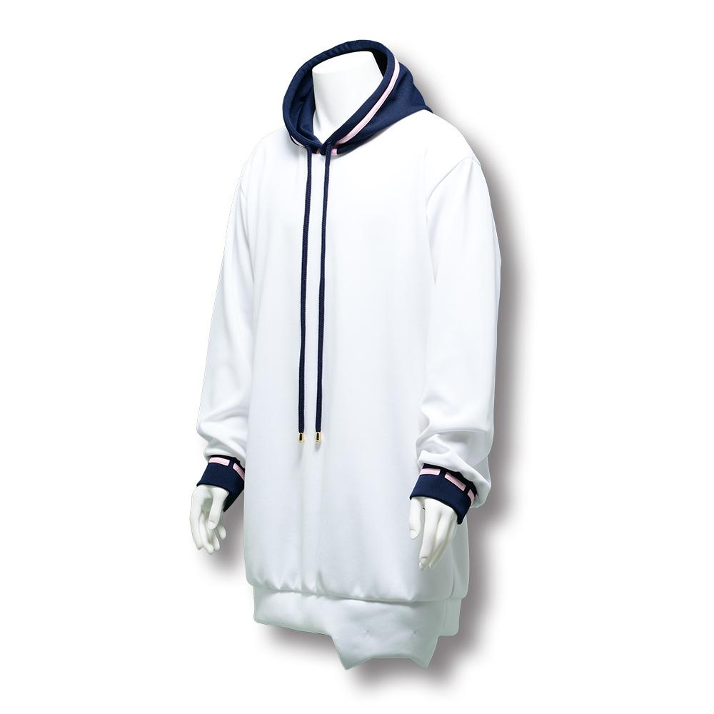 【HIKIKOMORI DEMO LIVE GA SHITAI! 2021】mafumafu's formal wear(Hooded Sweatshirt) No.1