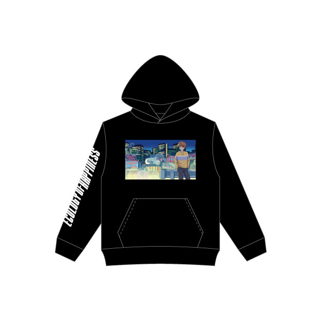 MEYCHAN Hooded Sweatshirt (Black)