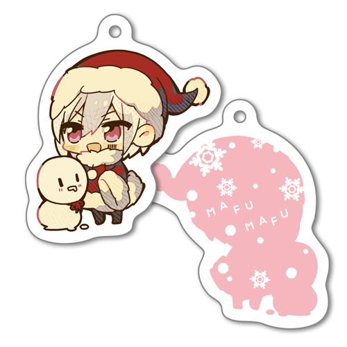 mafumafu Acrylic Key Chain Christmas Party ver.