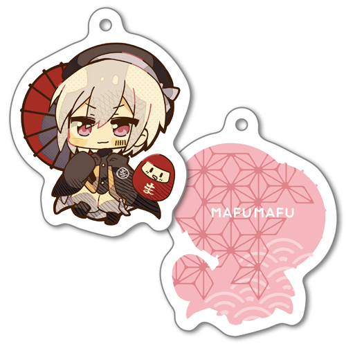 mafumafu Acrylic Key Chain Newyear Party ver.