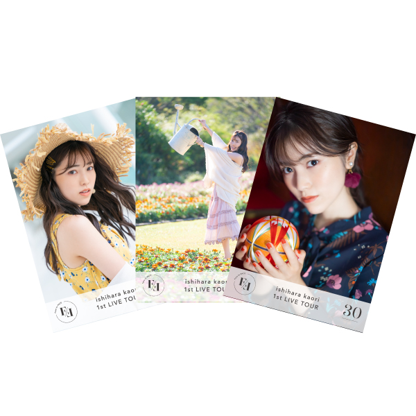 """Ishihara Kaori 1st LIVE TOUR """"Face to FACE"""" Photo B set"""
