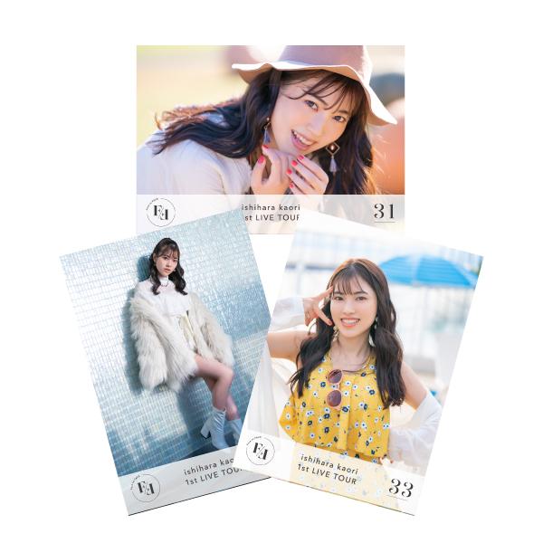 """Ishihara Kaori 1st LIVE TOUR """"Face to FACE"""" Photo C set"""