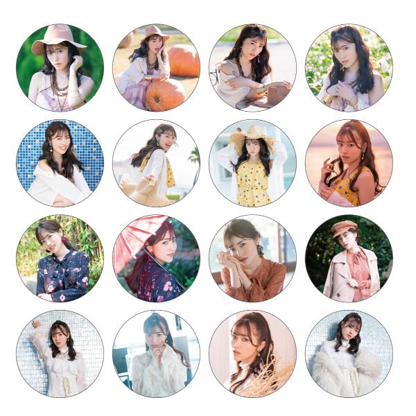 """Ishihara Kaori 1st LIVE TOUR """"Face to FACE"""" Badge (16 types random)"""
